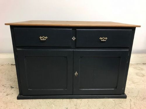 Old Convent Cupboard  - Ideal kitchen island , sideboard etc.  - B105